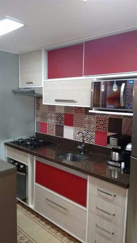 decoracion de cocinas en color rojo  cocinasmodernasintegrales  imagens decoracao