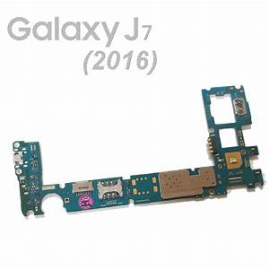 Placa Base Motherboard Samsung Galaxy J7 2016 Sm J710fn 16