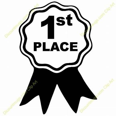 Clipart Place Winner Ribbon Clipground Award Mugs
