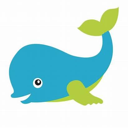 Sea Clipart Under Clip Background Transparent Whale