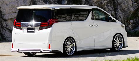 Toyota Alphard And Vellfire Gets Wald Sports Line Kits