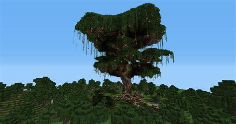 biggest minecraft tree  itsjerryandharry minecraft server