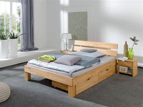 Französisches Bett Doppelbett 140x200 Buchebett Massivholz