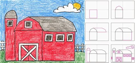 How To Draw A Barn by Diy Cupcake Holders Nu Est Jr For And Farm Unit