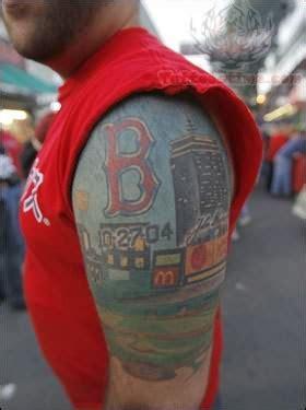 boston red sox tattoo