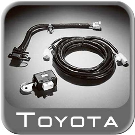 toyota tacoma trailer wiring harness