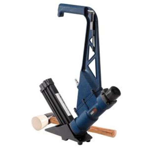 home depot flooring nailer cbell hausfeld 2 in 1 flooring nailer stapler
