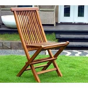 Chaise Teck Jardin : chaises de jardin pliante en teck huil 36 jardin piscine ~ Teatrodelosmanantiales.com Idées de Décoration