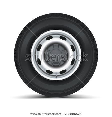 whitewall tire isolated on hubcap stock images royalty free images vectors