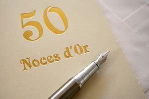cadeau 50 ans de mariage 50 ans de mariage noces d 39 or