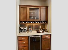 Coffee bar ideas kitchen traditional with woodmode