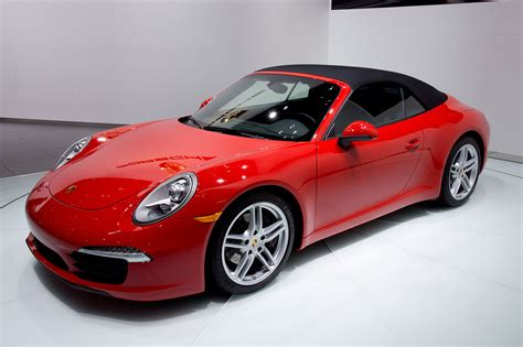 convertible porsche red file 2012 naias red porsche 991 convertible world