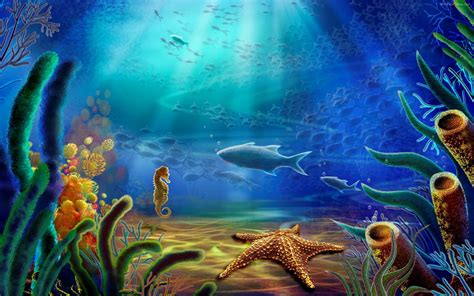 Under The Sea Background ·① Download Free Stunning Full Hd