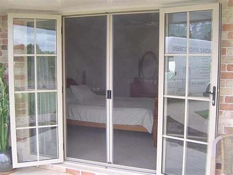 outswing patio doors with screens 25 best ideas about doors with screens on