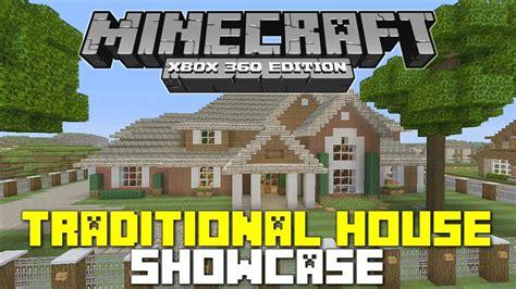 minecraft xbox  traditional house  wgamesgaloreandmore youtube