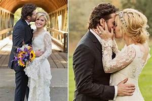 kelly clarkson wedding | OBSESSED with this dress