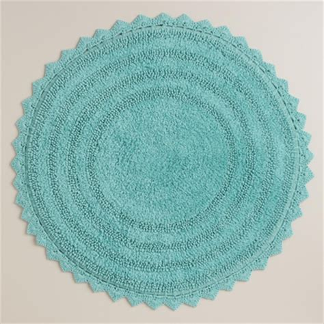 round bathroom rug house decor ideas