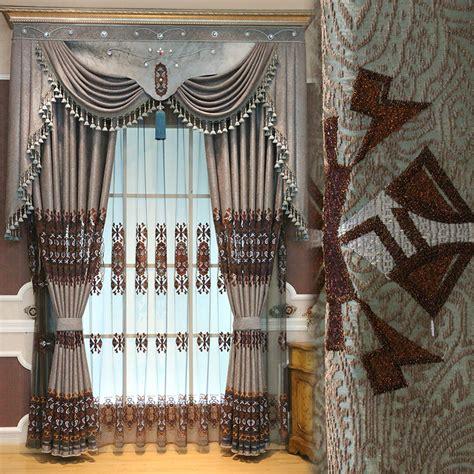 aliexpress buy vintage european jacquard curtains