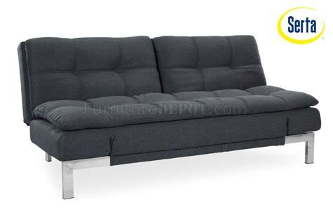Convertible Sofa Modern by Umber Microfiber Modern Convertible Sofa Bed W Steel Legs