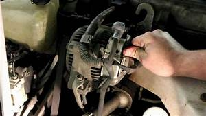 Toyota Alternator Replacement