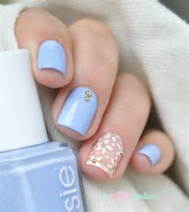 Image of: Essie Salt Water Happy Parmi Le Aquerette Blue Nail Designs To Beauty Your Nails
