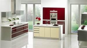 Gorenje Interior Design - Kitchen Sigma bordeaux gloss