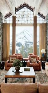 Fototapete Fenster Aussicht : 60 elegante designs von gardinen f r gro e fenster ~ Michelbontemps.com Haus und Dekorationen