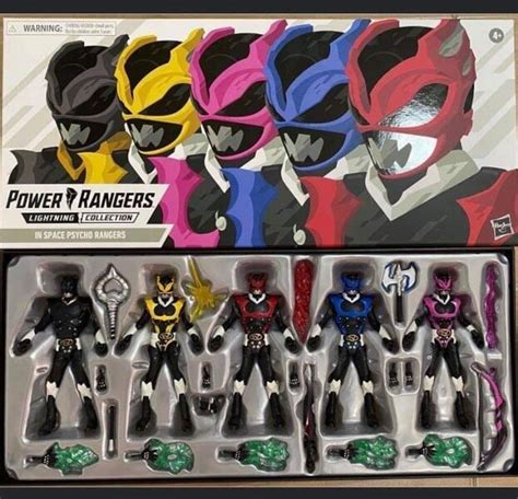 Power Rangers Lightning Collection Space Psycho Rangers ...