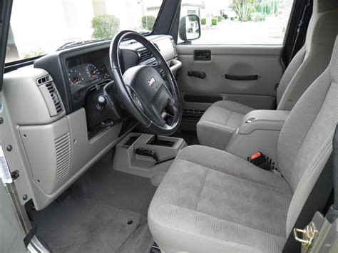 2005 jeep unlimited interior 2005 jeep wrangler interior pictures cargurus