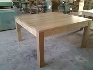 fabriquer une table manger interesting charmant fabriquer With salle À manger contemporaineavec table a manger carràé extensible