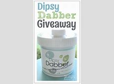 Dipsy Dabber Paint Storage Solution and Giveaway