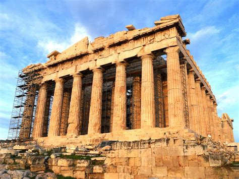 Ancient Building : Ancient Greek Buildings And Structures