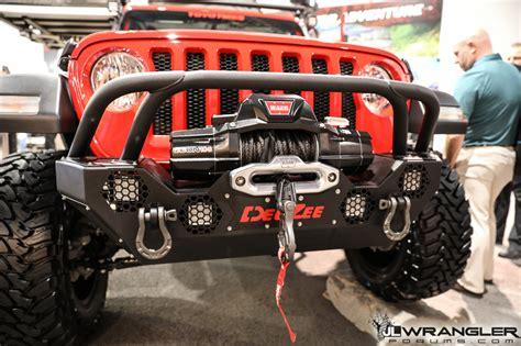 dee zee jl wrangler products build sema  jlwf