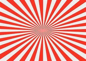 Sunburst in red and white Photo Free Download