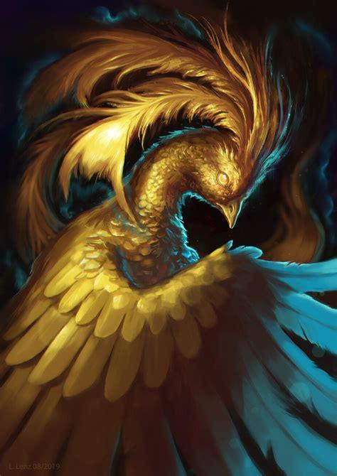 ArtStation - Golden Phoenix, Lisa Lenz