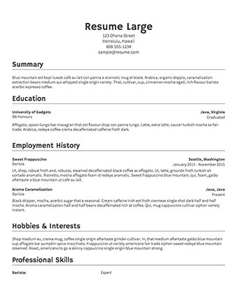 free resume templates for wordpad free resume builder resume com