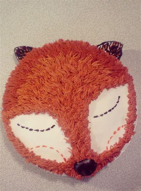 fox  cake tutorial  mama loves