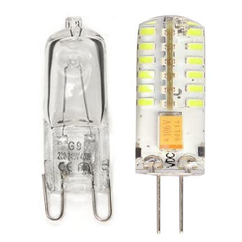 10pcs g9 halogen capsule light bulb l 60 watt