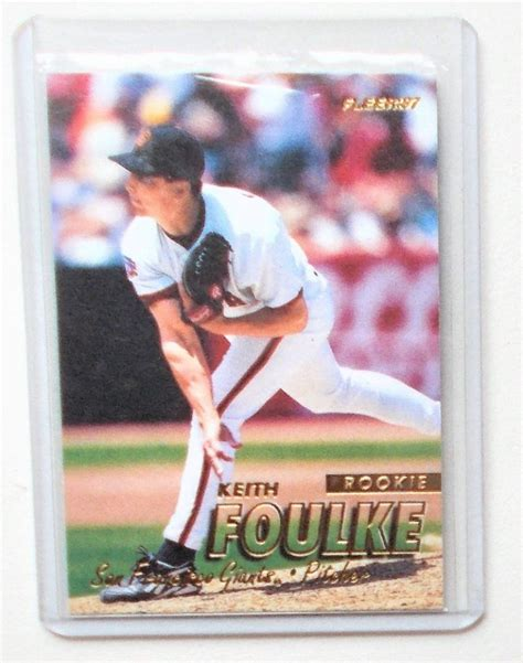 A more common use case for team bags is to protect cards already stored in a case from scratching one another. eBlueJay: 1997 Fleer #760 Keith Foulke Rookie Baseball Card