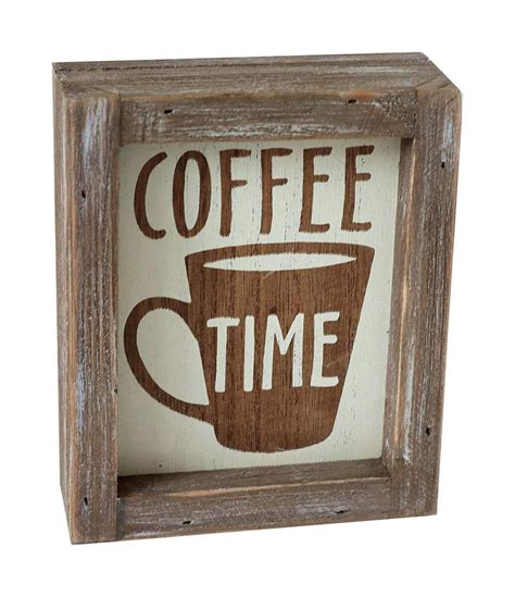 Order online now with the new woods coffee app. Parisloft Coffe Time Rustic Barn Wood Small Coffee Box Sign Decor for Kitchen, Rustic Wooden ...