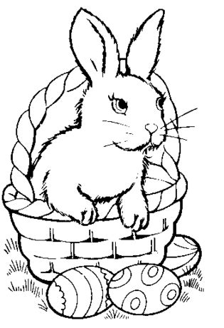 bunny coloring pages doodle pages  kids bunny