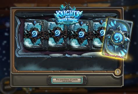 decks hearthstone frozen throne knights of the frozen throne guide release date card