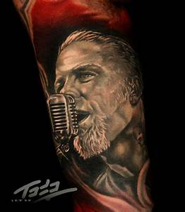 James Hetfield of Metallica by Todo: Tattoo Inspiration ...