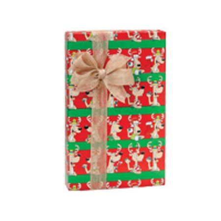 Red And Green Cool Reindeer Holiday Christmas Gift