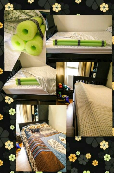 Pool Noodle Bed Rail by 1000 Ideas About Bed Rails On Toddler Bed