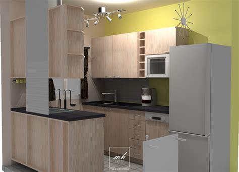 amenagement cuisine 3d aménagement cuisine et salle de bain mh déco
