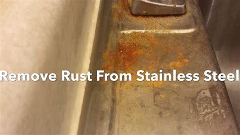 rust remove stainless steel sink bar friend keepers clean sinks polish restore visit