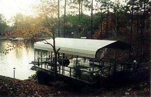 Metal Boat Dock Cover