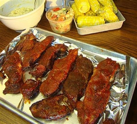 Krista's Kitchen Country Style Barbecued Ribs