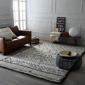 Les tapis de l39hiver des tapis qui ont du style elle for Tapis berbere avec canapé baroque blanc